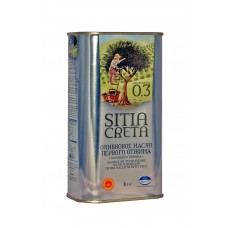 Extra panenský olivový olej ORINO P.D.O. Sitia 1l tin