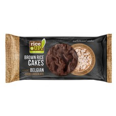 Celozrnný rýžový keks s horkou belgickou čokoládou