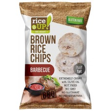 Celozrnné ryžové čipsy -  barbecue