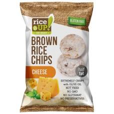 Celozrnné ryžové čipsy - syr