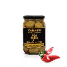 Olivy plené paprikou